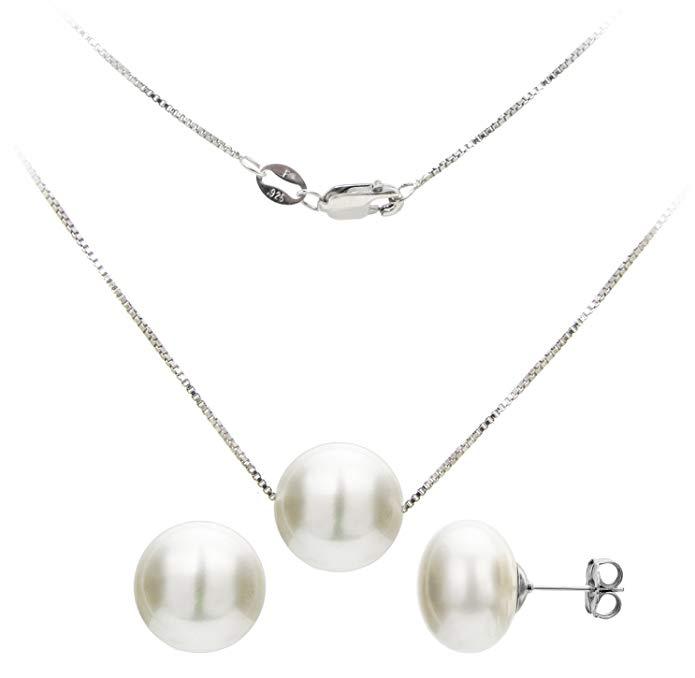 La Regis Jewelry Sterling Silver Box Chain Pendant 18